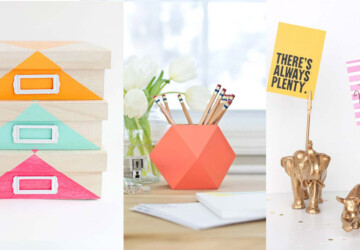 16 Awesome DIY Office Organization Ideas That Boost Efficiency - office organization, DIY Organization Ideas, diy office storage, diy office organization
