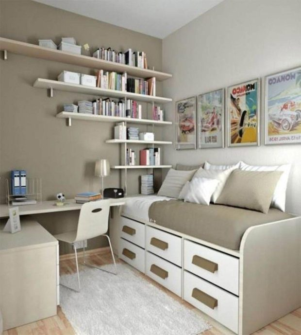 5 Essential Things You Must Have For Organized Bedroom - tips, shoe rack, pillows, Organization, bedroom