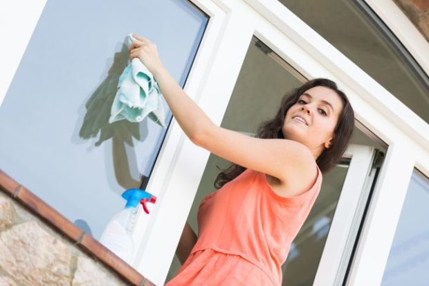 Top 5 Things to Take Good Care of Frosted Glass Panels - window glass, spray, plain, glass panels, frosted glass, dirty window, cleaning