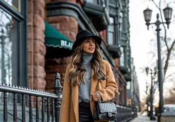 Winter Street Style: 15 Outfit Ideas Perfect for January - Winter Street Style OUTFITS, Winter Street Style Looks, winter street style, outfit for cold weather, January outfit ideas, cold weather