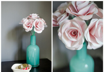 15 Easy-to-Make DIY Paper Flower Projects - Paper Flower Projects, DIY Paper Flower Projects, Diy Paper Flower Ideas, DIY Paper Flower