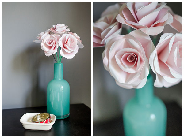 How to make beautiful crepe paper flowers and chocolates.