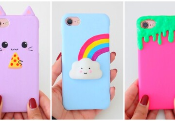 Cute Phone Case Ideas You'll Be Able To Make At Home - phone case, diy Phone Case, diy accessories