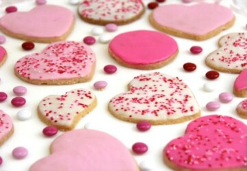 16 Cute Cookie Recipes for Valentine's Day - Valentine's day desserts, Valentine's day cookies, diy Valentine's day, Cookie Recipes for Valentine's Day