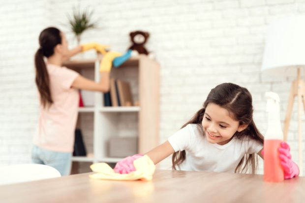 How Caring for Your Home Translates to Caring for Your Children - winter, sweep, pests, mop, interior, home, exterminator, dust, clutter, cleaning service, children, caring