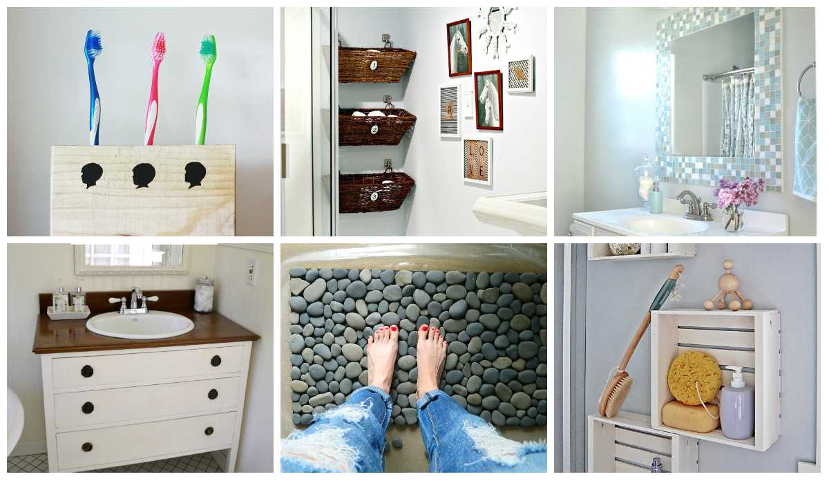 18 Cheap And Easy Diy Bathroom Ideas Anyone Can Do Style