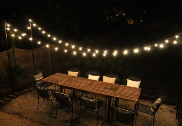 16 Stunning DIY Outdoor Lighting Ideas - Lighting Ideas, DIY Outdoor Lighting Ideas, DIY Lighting Ideas