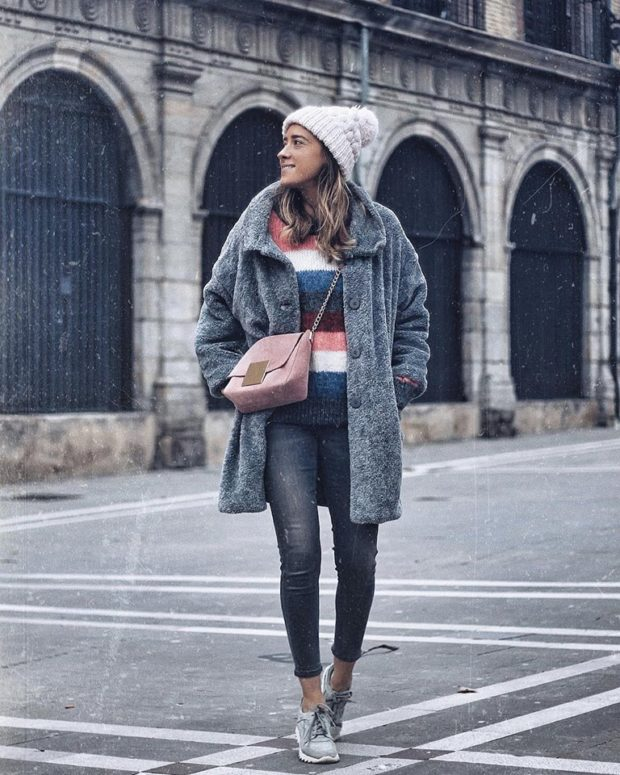 15 Winter Outfits With Sneakers That Feel Totally Fresh