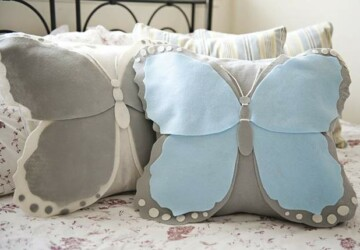 15 Stylish DIY Pillow Ideas You Can Make This Weekend - diy pillows, DIY Pillow Ideas, DIY Pillow Idea, diy pillow, diy home decor