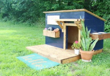 DIY Dog House Ideas Anyone Can Build - DIY Dog House, diy dog bed, DIY Dog