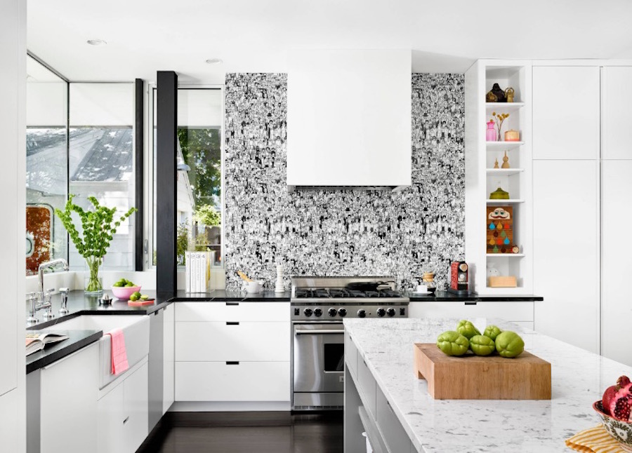 4 Tips For Choosing The Right Wallpaper For Your Kitchen