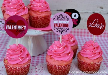 17 Cute Valentine's Day Cupcakes - Valentine's Day Cupcakes, Valentine's Day Cupcake Recipes, Valentine's Day Cupcake