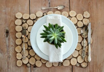 14 Amazing Wood Slice Craft Ideas - Wood Slice Craft Ideas, Wood Slice Craft, Wood Slice, diy wooden decorations, diy Wood Slice, diy wood