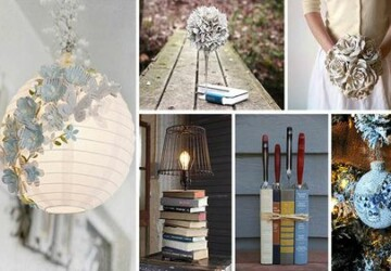 14 Unique DIY Project Ideas to Repurpose Old Books - Repurpose Old Books, Repurpose, old books, diy Repurpose Old Magazines, diy Repurpose Old Books, diy Repurpose, diy books