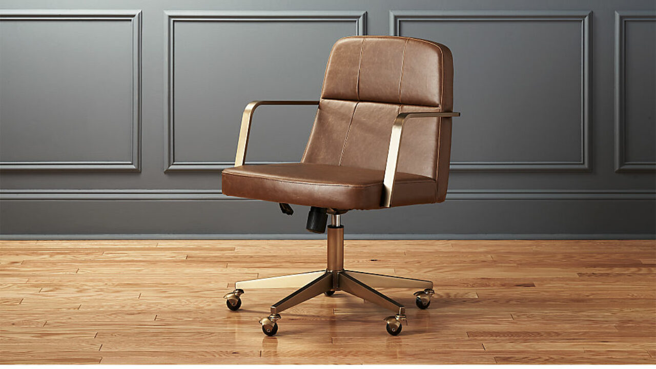 Five Extravagant Leather Office Chairs