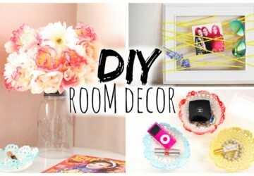 15 Easy DIY Room Decor Ideas (Part 2) - DIY Room Decor Ideas, DIY Room Decor Idea, DIY Room Decor, DIY Home Decor Ideas, DIY Decorating Ideas
