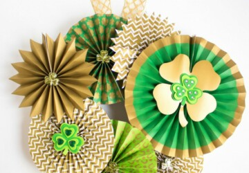 15 Easy DIY Decoration Ideas For St. Patrick's Day - Diy St. Patrick's Day Decorations, DIY St. Patrick's Day, DIY Patriotic Home Decor Ideas, DIY Decoration Ideas For St. Patrick's Day, DIY Decoration Ideas