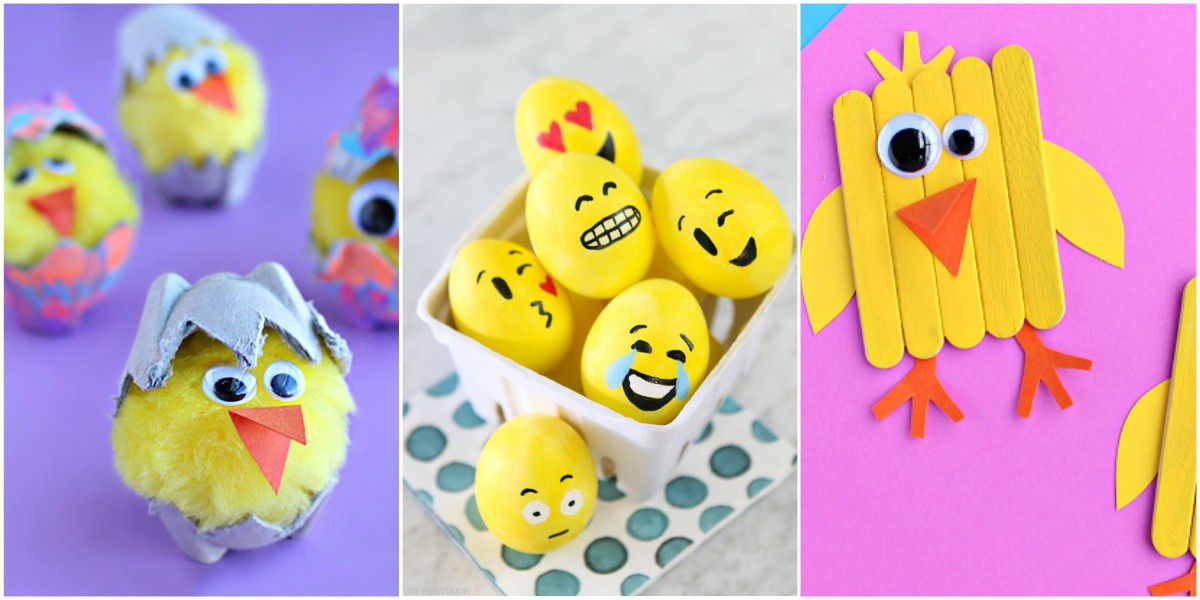 15 Cute And Fun Easter Crafts For Kids Part 1 Style