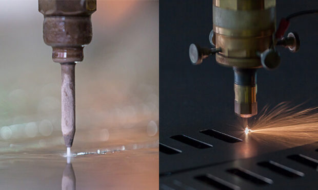Waterjet Cutting Vs. Laser Cutting: The Differences - waterjet, materials, laser, cutting