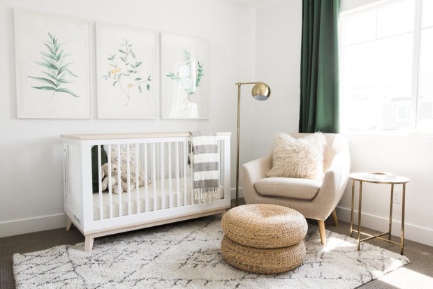 7 Tips for Decorating Your Nursery on a Budget - swap, second-hand, nursery, long-term pieces, home decor, decor, crafty, convertible crib, comforter, budget