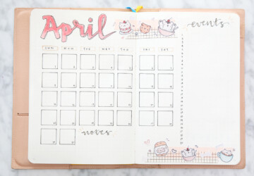 Bullet Journal Monthly Spread Ideas - Bullet Journal Monthly Spread Ideas, Bullet Journal Ideas, Bullet Journal
