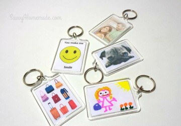 13 Easy Tutorials for Unique DIY Keychains - DIY Keychains, DIY Keychain, DIY key holder