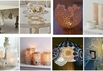 Charming Home Decorating DIYs to Make With Lace - DIY Lace Projects, DIY Lace Crafts, DIY Lace