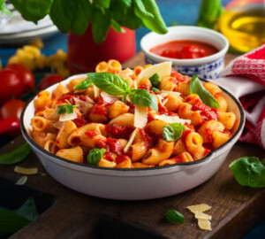How to Make Restaurant Style Red Sauce Pasta at Home - Tomato Recipes, Tomato, Restaurant, red souce pasta, pasta
