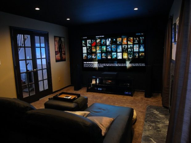 Basement Makeovers: 5 Magical Ways to Transform Your Space - remodel, ideas, home theater, home spa, Home office, basement