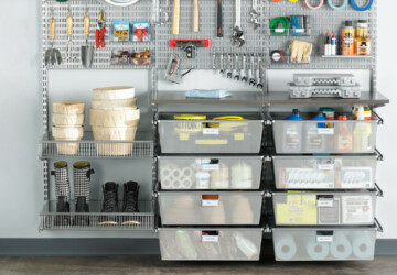 15 Brilliant Ways to Organize Your Garage - Garage organization, Garage and Garage Doors, garage, diy organization projects, DIY Organization Ideas, diy organization hacks