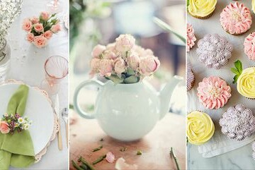15 Perfectly Pastel Crafts for Spring - pastel spring, Pastel Crafts for Spring, Pastel Crafts, diy spring wreath, diy spring