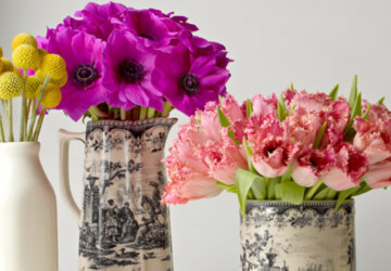 15 Vases You Can DIY to Hold Your Spring Flowers (Part 1) - vases, DIY Vases, diy spring Vases, diy spring home decor, diy spring