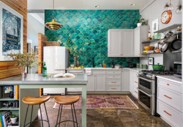 9 Ideas For Creating A Well-Designed Eclectic Kitchen - kitchen, interior design, eclectic kitchen, eclectic