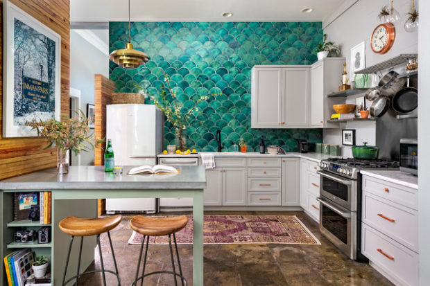 9 Ideas For Creating A Well Designed Eclectic Kitchen