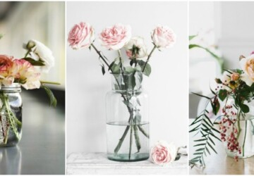 15 Vases You Can DIY to Hold Your Spring Flowers (Part 2) - vases, DIY Vases, diy spring Vases, diy spring home decor