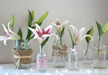 Brighten Up the Home With Spring Mason Jar Crafts - Spring Mason Jar Crafts, Spring Crafts, mason jar decor, Mason Jar Crafts, Mason Jar craft