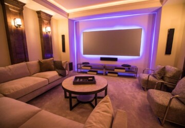4 Benefits of Interior Design - media room decor, interior design, home decor