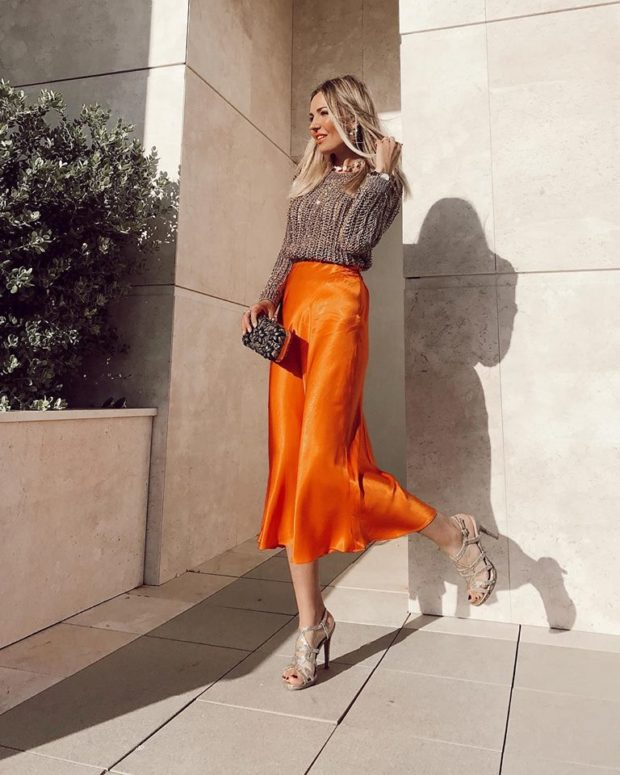 15 Fresh Outfit Ideas to Wear A Midi Skirts This Spring