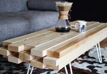 15 DIY Wooden Projects For Your Home Improvement - diy wooden projects, DIY Wood Craft Projects, DIY Wood Craft, diy wood