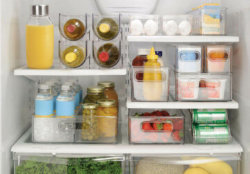 Fridge Organization Ideas - How to Organize a Fridge - Fridge Organization Ideas, Fridge Organization, fridge, DIY Organization Ideas, diy organization hacks