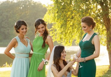 How To Select Popular Bridesmaid Dress Colors for Summer Wedding 2019 - wedding, trends, party, Dress, color, bridesmaids, 2019