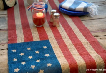 15 Easy Fourth of July Decorations to Get You in the Holiday Spirit (Part 2) - 4th of July diy decor, 4th Of July Crafts, 4th of July