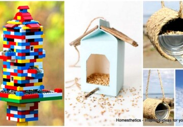 Summer DIY Projects: 15 Easy Homemade Bird Feeders - Homemade Bird Feeders, diy Bird Feeders, bird feeders, bird