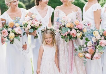 15 Cute Summer Wedding Flower Girl Looks - summer wedding outfit ideas, Summer Wedding Flower Girl Looks, summer wedding dress, summer wedding, Flower Girl Looks, Flower Girl Dress Ideas for Summer Wedding, Flower Girl Dress Ideas, Flower Girl