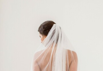What's on Trends for Wedding Veils? - weddings, volume, veil, straps, sparkle, sleeves, skinny, shine, royal, puffy, inspiration, florals, capes, blooms