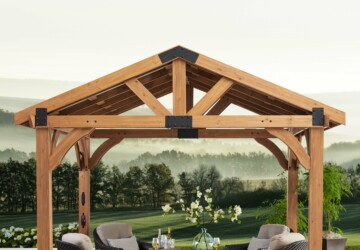 Innovative Outdoor Home Improvement Projects - shed, playground, outdoor, Gazebo, garden, cooking, bed, area