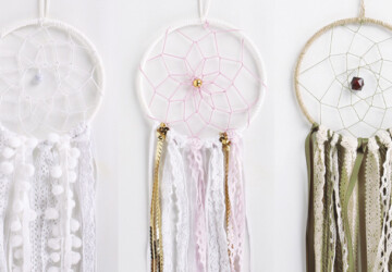 15 Awesome DIY Dreamcatcher Tutorials (Part 1) - Handmade and DIY Dreamcatchers, DIY Dreamcatcher Tutorials, DIY Dreamcatcher