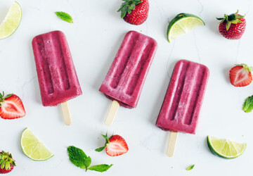 20 Healthy Popsicle Recipes for Hot Summer Days (Part 2) - Refreshing Popsicle Recipes, Popsicle, Healthy Popsicle Recipes for Hot Summer Days, Healthy Popsicle Recipes