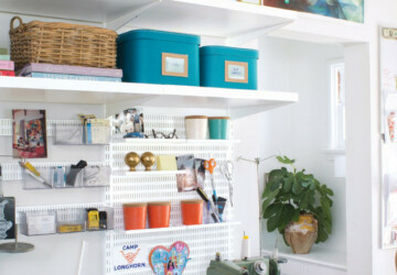 13 Creative DIY Craft Room Organization Ideas - diy organization projects, DIY Organization Ideas, DIY Craft Room Organization Ideas, DIY Craft Room, Craft Room Organization Ideas, craft room design, craft room