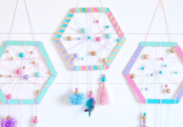 15 Awesome DIY Dreamcatcher Tutorials (Part 2) - Handmade and DIY Dreamcatchers, DIY Dreamcatcher Tutorials, DIY Dreamcatcher